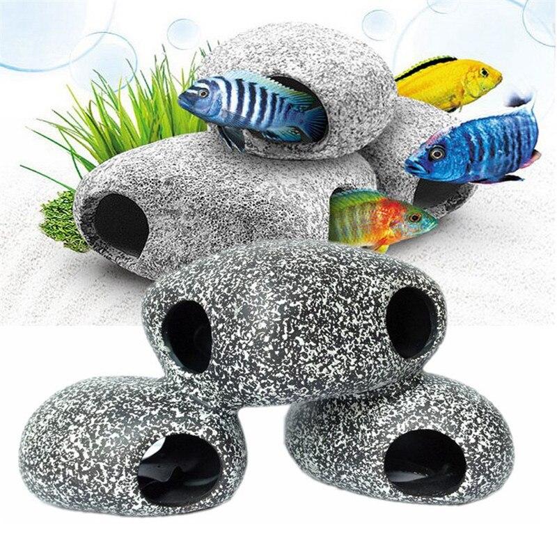 Aquarium Aquarium Simulatie Aërobe Decoratieve Bubble Stone Coral Vulkaan Shell Conch Home Decoratie Voor Fish Om Een Gevoel Op Gemak En Energiek Te Maken