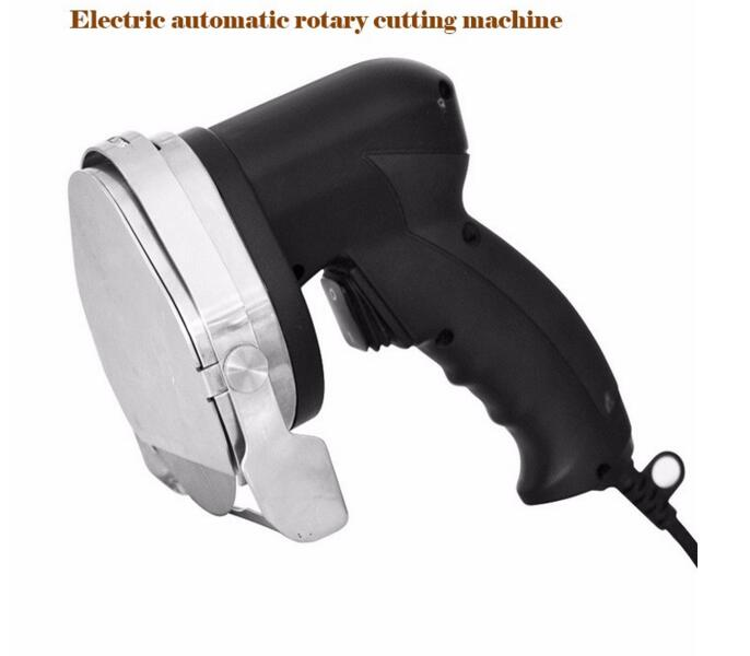 Handheld Electric Meat Cutter Automatic Meat Slicer Meat Cutting Machine Barbecue Circular Knife Scraper KS100E itop 10 blade premium meat slicer electric deli cutter home kitchen heavy duty commercial semi automatic meat cutting machine