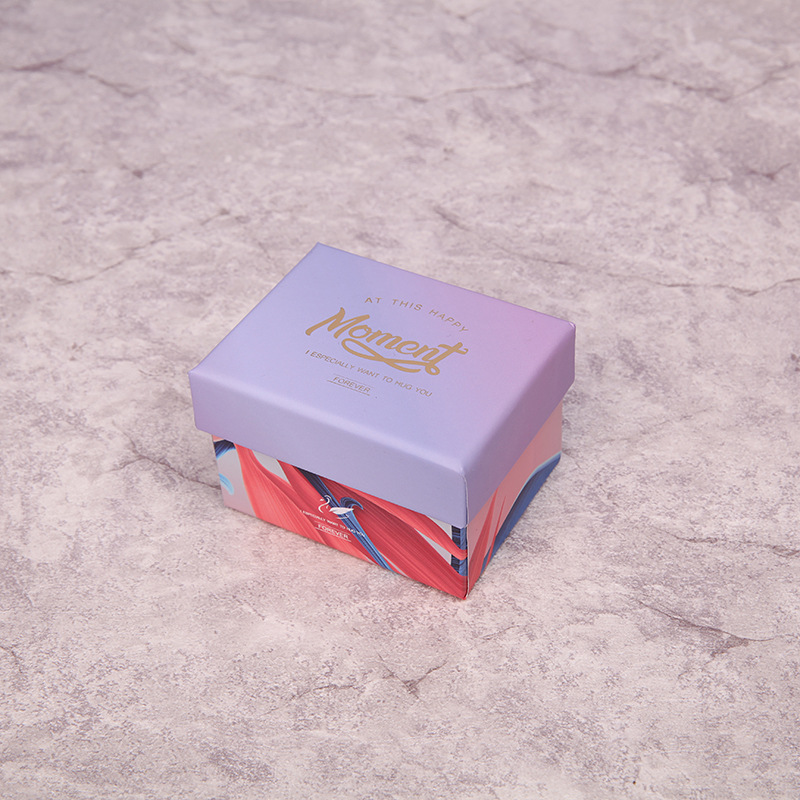 5 Pack/Lot Kraft Paper Gift Jewelry Boxes for Wedding Carton Cookie and Candy Packaging Box Macaron Favor Present Box