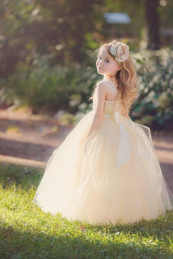 Strapless Flower Girl