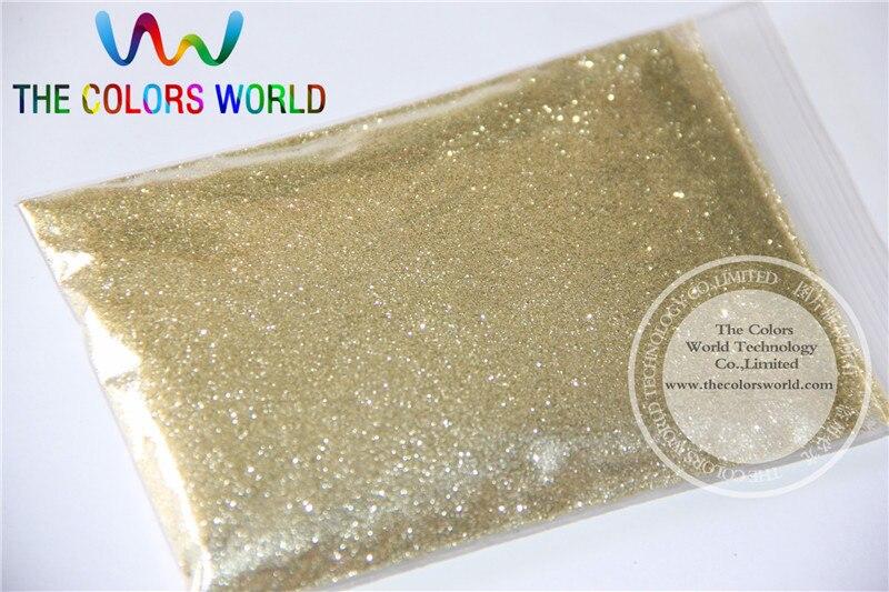 TCM0200 Champagne Gold Color Glitter powder -0.2MM glitter dust dazzling glitter powder,DIY Flash powder mioblet 2g box mirror effect nail glitter powder shiny rose gold purple mirror chrome powder dust nails art pigment diy manicure