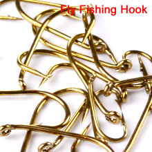 200pc Fly Fishing Hook 8000-8/12/14/16 Size fishhook Fly Hooks Fishing Trout Salmon Dry Flies Fish Hook