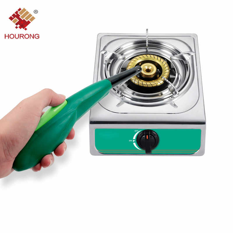 Hourong 3 Colors Camping BBQ Electronic Lighter Igniter Cooker Kitchen Camping Grilling BBQ Sparking Stove Cooking Tool