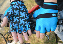 2016 Latest Shock-proof wholesales short finger cycling gloves