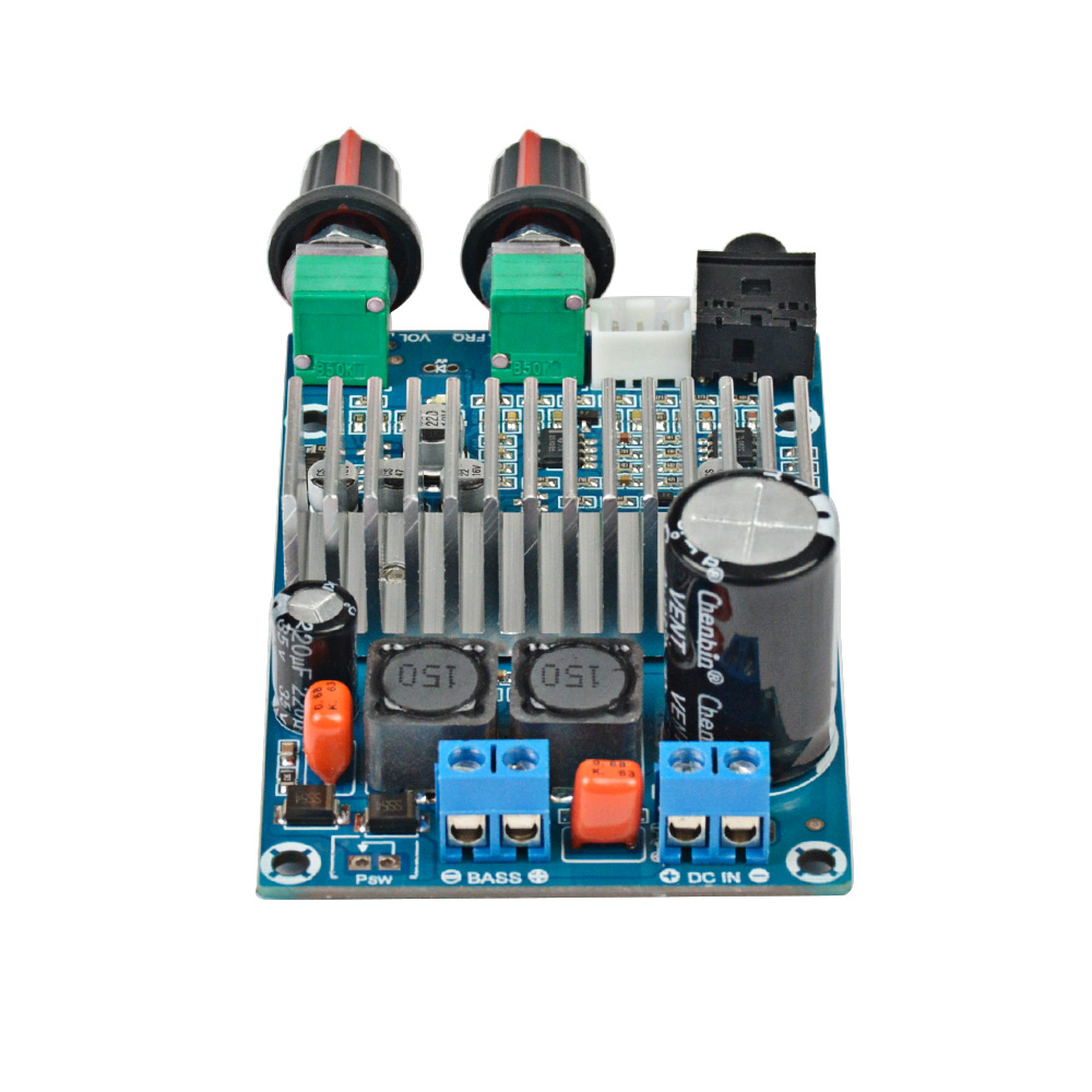 Aiyima Tpa3116 Subwoofer Amplifier Board Tpa3116d2 Audio Amplifiers Power Circuit Bass 100w Car Output Dc12 24v In From Consumer Electronics On