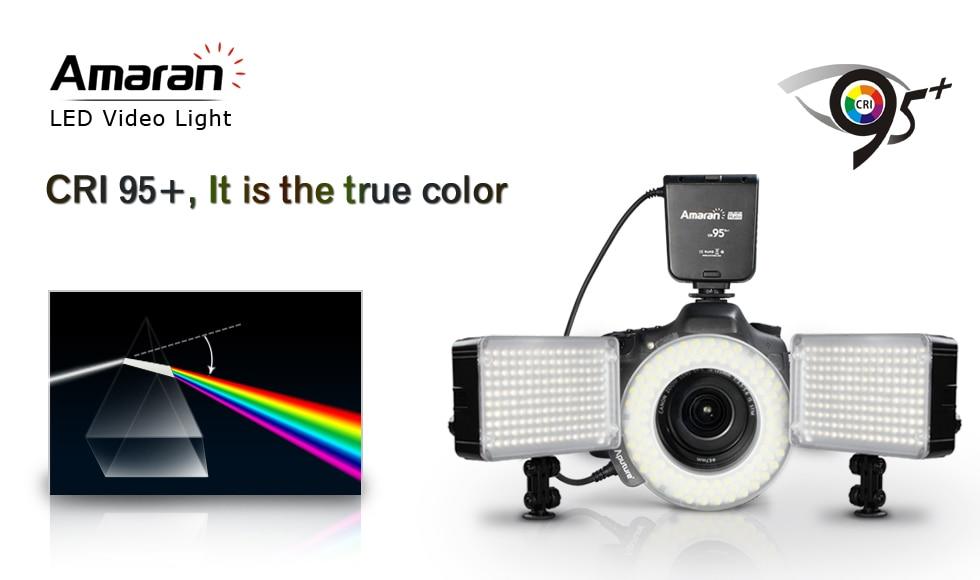 Aputure Amaran AL-H160 160 LED Video Studio Light 160 PCS LED for Canon Sony Nikon all DLSR Cameras Camcorder цена