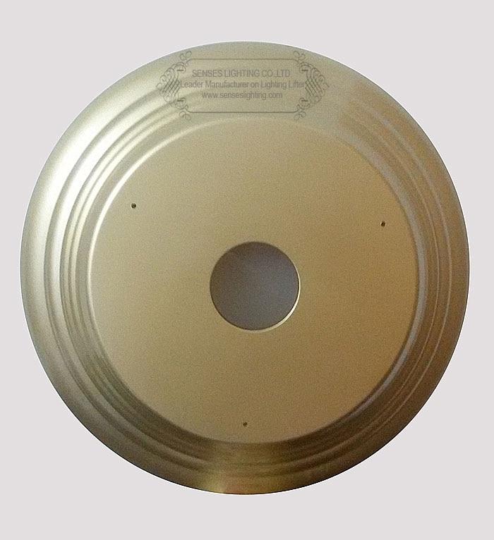 ゴールド装飾カバー用シャンデリア リフト ddj150