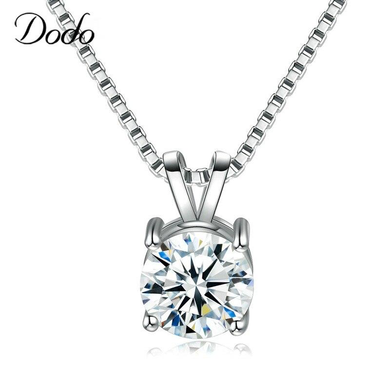 White Wedding Dress Gold Jewelry: Aliexpress.com : Buy DODO Necklace&Pendants Women 925