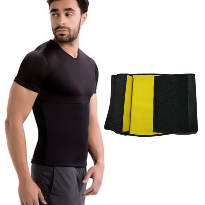 60be341a14243 Detail Feedback Questions about Hot NEW Shapers Waist Trimmer Slimming  Shirt Hot Men Compression Body Shaper Belt Natural Weight Loss Neoprene  Workout ...
