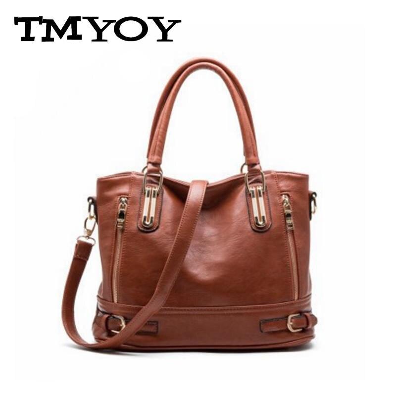 ФОТО TMYOY New 2017 New Design Women Fashion Handbag Top PU Leather Women's Messenger Bag Luxury Female Shoulder Bags Bolsas VK047