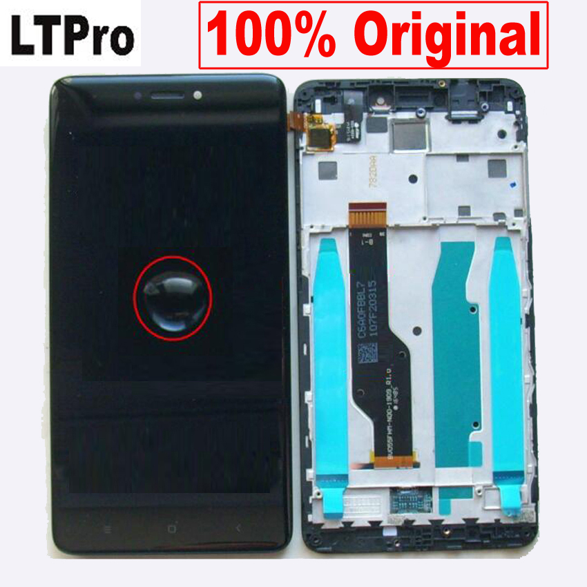 Original Best For Xiaomi redmi note 4X note 4 Global Version Snapdragon 625 LCD screen display touch digitizer assembly + frame