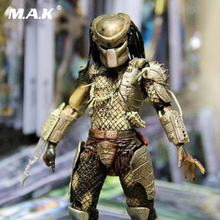 NECA Alien Vs. Predator 25th Anniversary P1 PVC Jungle Hunter Action Figure Model 7 Male Anime Figure Model Toys for Collectoin 7 8 neca predator ultimate 30th anniversary jungle hunter pvc action figure jungle hunter unmasked collectible model doll toys