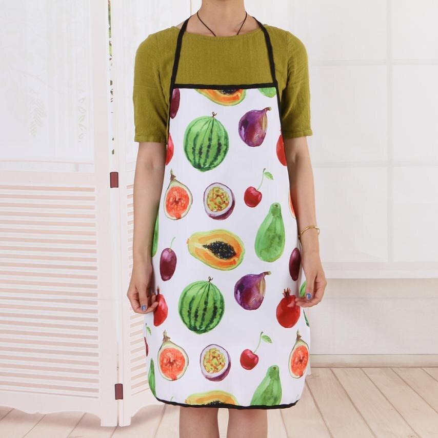 Fruit Waterproof Apron Kitchen Restaurant Bib Apron Dress Kitchen Restaurant Cooking Bib Aprons Monther Gift