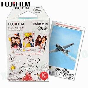Image 2 - Fujifilm Instax Mini 8 9 Film Winnie pooh Fuji Instant Foto Papier 40 Vel 70 7 s 50 s 50i 90 25 Delen SP 1 2 Camera