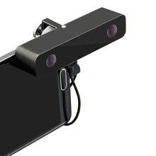 SVPRO Новая модная стерео 3D камера VR. Широкоугольный двойной объектив бок о бок изображения 3D VR камера для мобильного телефона Android