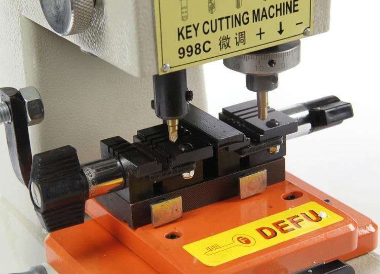 998c Nejlepší DEFU Key Cutting Machine Cutter Locksmith - Ruční nářadí - Fotografie 3