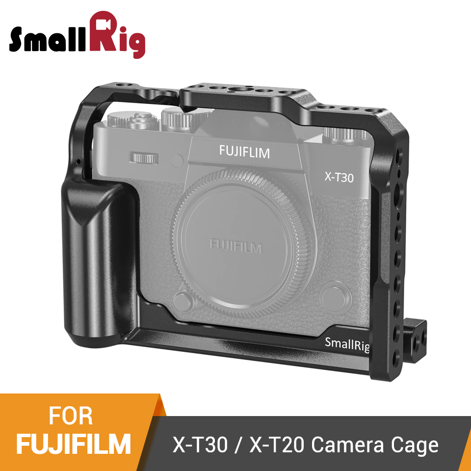 SmallRig X T30 Cage for Fujifilm X T30 and X T20 DSLR Camera Cage With Integrated