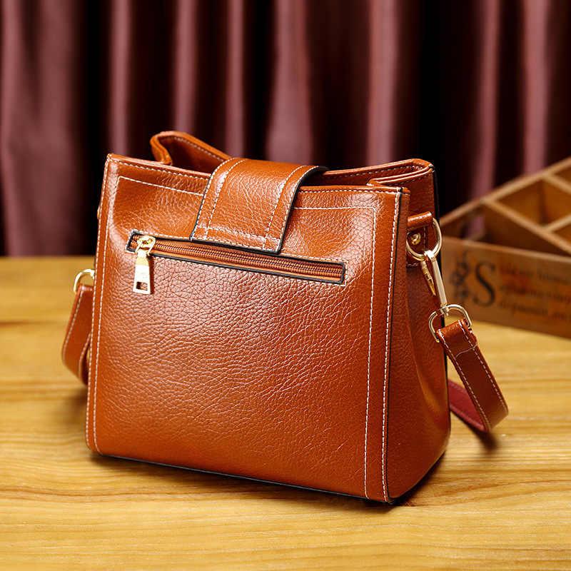 Сумка-тоут через плечо, женская сумка из натуральной кожи, маленькая сумка-мессенджер с кисточками, T18