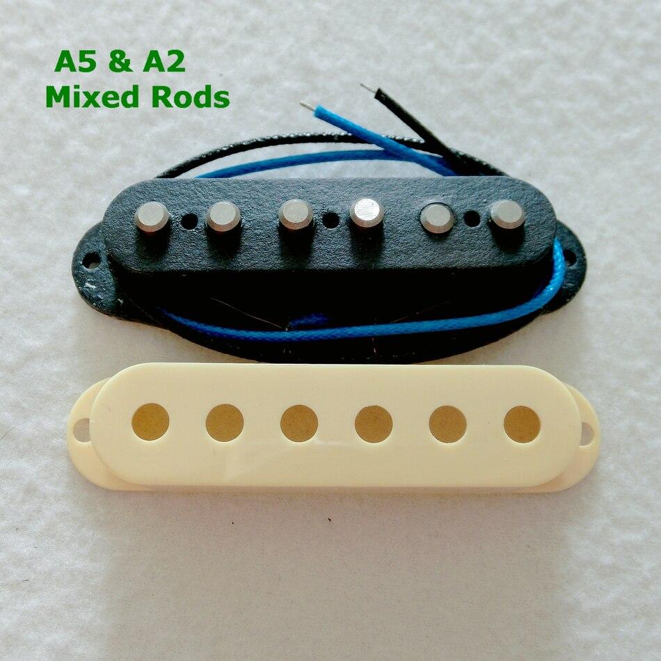 Free Shipping Chrome Vintage Guitar Tremolo Electric Bridge 6 Aliexpresscom Buy Wilkinson Covered 3pcs One Set Mixed Alnico 5 2 Manget Rods St Pickup