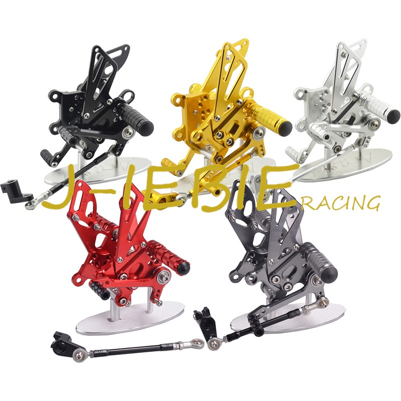 CNC Racing Rearset Adjustable Rear Sets Foot pegs Fit For Aprilia RSV4 RSV4R Tuono V4 R  2009-2016 morais r the hundred foot journey