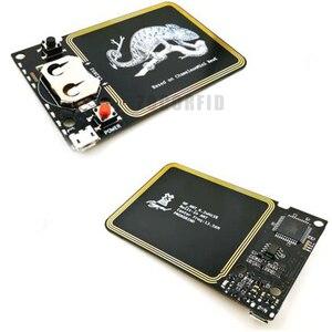 Image 5 - Güncelleme sürümü bukalemun Mini RDV2.0 13.56MHZ ISO14443A NFC RFID okuyucu yazar Nfc kart fotokopi klon çatlak