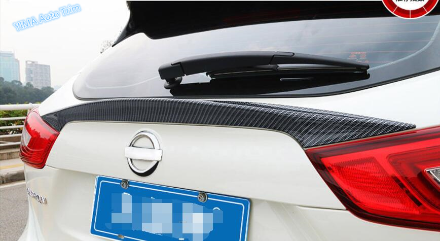 Lapetus pour Nissan Qashqai J11 2014 2015 2016 2017 ABS effet de style automatique becquet couvercle de coffre arrière garniture de hayon Kit de trappe