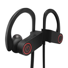 Bluetooth Headphones Wireless Sport Earphones Earbuds with Built-in Mic, Stereo Sound, Noise Cancelling Waterproof