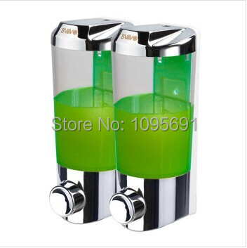 Quality assurance wall mounted chrome plating 800ml top ABS ...
