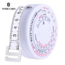150 см выдвижная лента для измерения веса, Индекс Массы, измерительная лента для похудения, точный калькулятор, инструмент для похудения