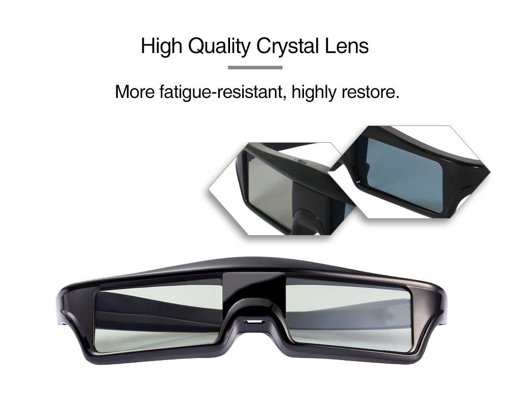 4 X  RF3D Active Rechargeable Glasses Substitute for Epson RF3D Glasses ELPGS03