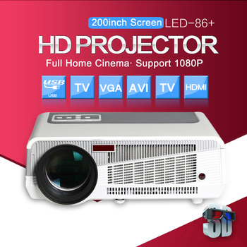 ThundeaL 5500Lumen LED86 LED86+ Android 6.0 WiFi Projector 1280*800 3D Home Theater Video Beamer Full HD Projector HDMI USB VGA