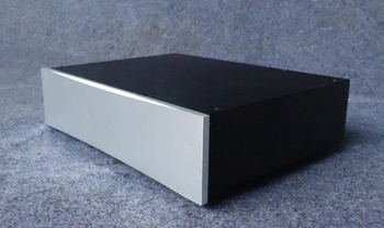 BZ3208 all-aluminum power amplifier housing front stage / DAC chassis case 326*82*248MM