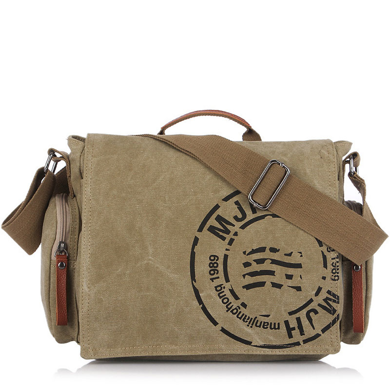 Men Business Briefcase Crossbody Bag Vintage Men's Messenger Bags Canvas Shoulder Bag Printing Travel Bags man casual laptop briefcase vintage canvas bags men s crossbody bag shoulder men messenger bag travel bag free shipping li 1300