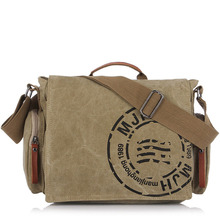 Men Business Briefcase Crossbody Bag Vintage Men's Messenger Bags Canvas Shoulder Bag Printing Travel Bags hot sale kaukko menthick canvas travel shoulder bags vintage unique messenger bags man cross body bag kaukko canvas leather
