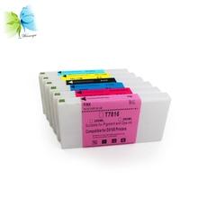 WINNERJET 200ml Compatible Ink Cartridge Disposable For Fuji DX100 Printer BK C M Y SB P drum unit 4set 4bk 4m 4c 4y compatible for intec cp2020 bk c m y 4pcs set total 16pcs