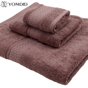 100% algodón Toalla de bathtowel + facetowel + toalla de mano 3 unids/set suave baño Toalla de cara toalla de mano Toalla de baño conjuntos 17 colores