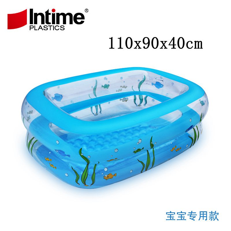 2layer Summer hot sale Thickening baby bath tub Portable Inflatable ...
