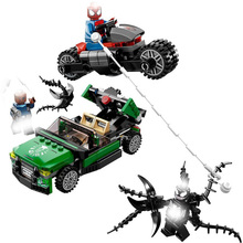 2019 Marvel Super Heros Set 578pcs Spiderman Mech Venom Mecha Building Blocks Compatible With Legoingly 76115