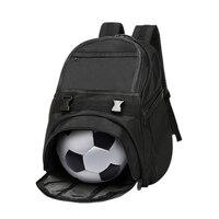 Profession Gym Backpack Men Durable Waterproof Oxford Shoulder Bag For Teenager Soccer Ball Pack Bag Fitness Training Sport Bag