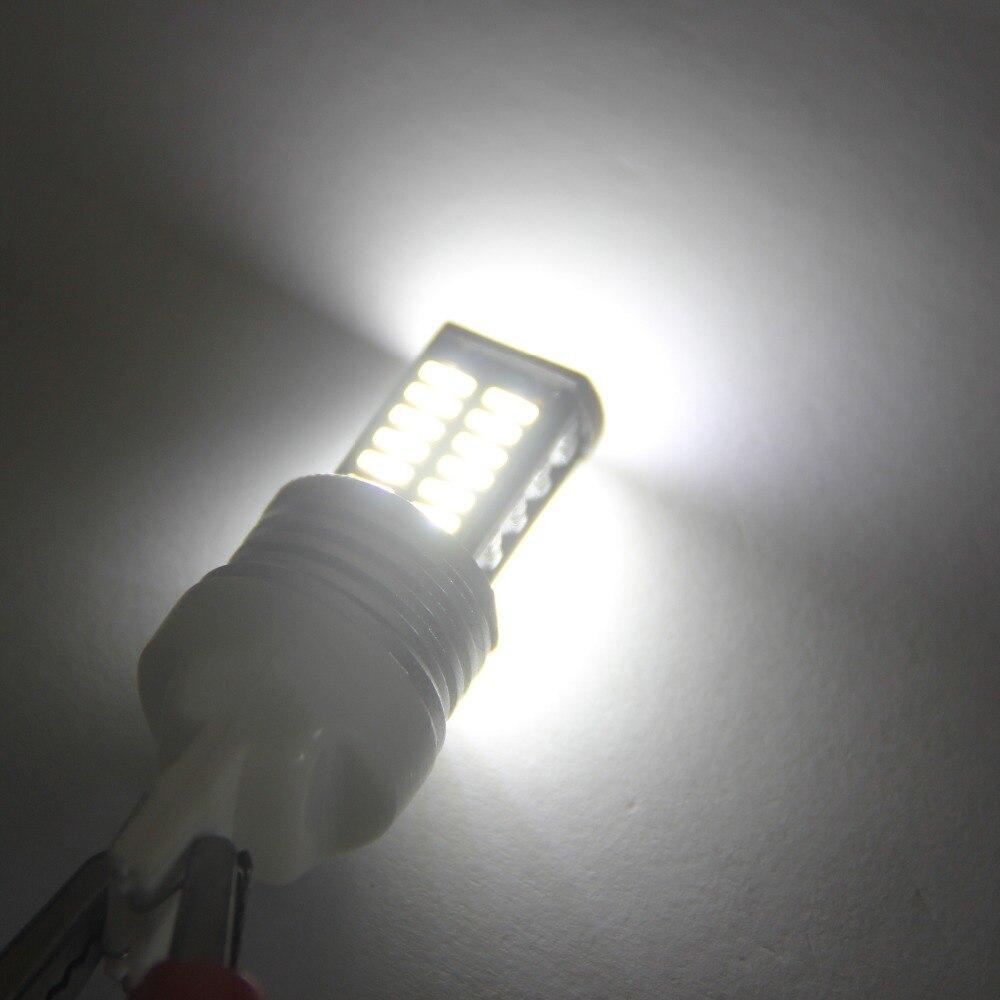 4Pcs Αυτόματο LED Canbus BAU15S 1156 4014 30 Σφάλμα SMD - Φώτα αυτοκινήτων - Φωτογραφία 6