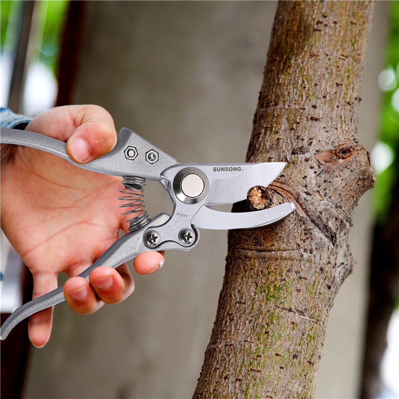 FIRMOR Professional Pruning Shears Scissors Tree Trimmers Secateurs Hand Pruner Garden Clippers Tools
