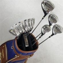13 шт. гольф-клубов HONMA BEZEAL 525 полный набор HONMA Golf driver+ дерево+ утюги+ клюшка графитовая клюшка для гольфа без сумки
