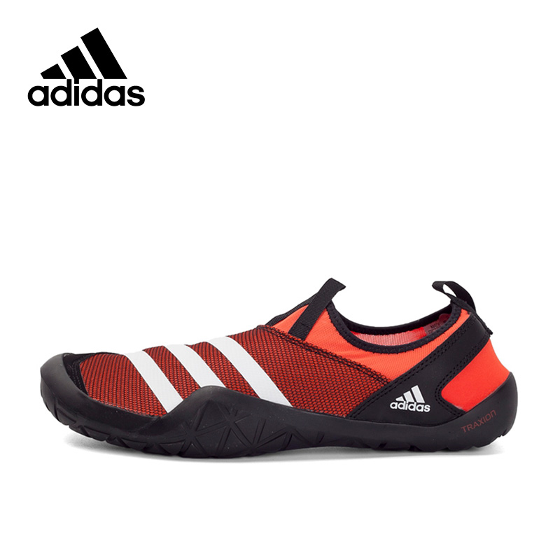 цена на Adidas Official New Arrival 2017 climacool JAWPAW SLIP ON Men's Aqua Shoes Outdoor Sports Sneakers BB5446