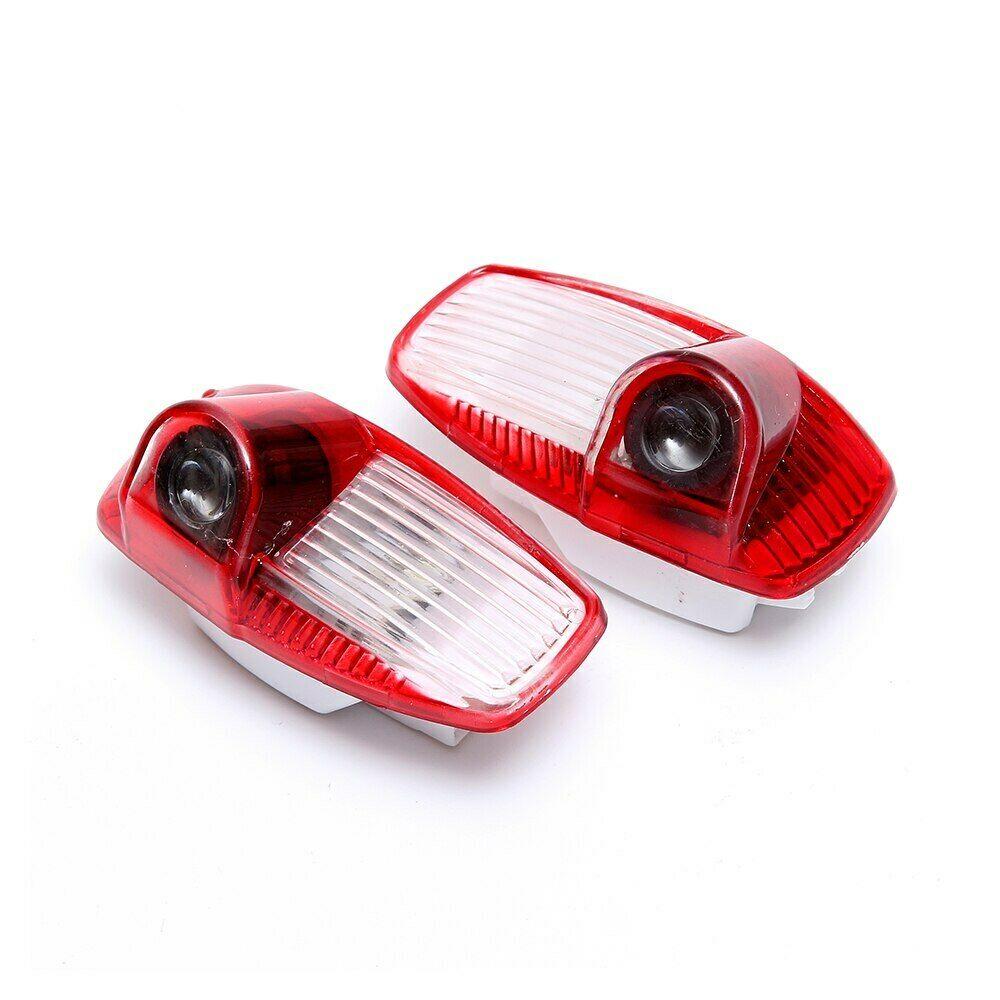 2 шт., лазерный проектор для дверей автомобиля, Cayman 911 Boxster