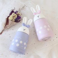 AIMS Cute Rabbit Cartoon Stainless Steel Insulation Cup Girls Portable Creative Small Fresh Simple Student Water