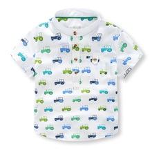 Рубашка для мальчиков 2016 Summer new