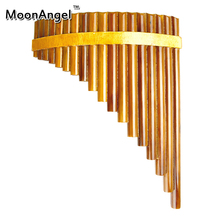 Professionelle Bläser bignner Pan Flöte 15 Rohre Handgefertigten Bambus Flauta pan rohre Handgemachte Panflutes Flauta Musikinstrumente