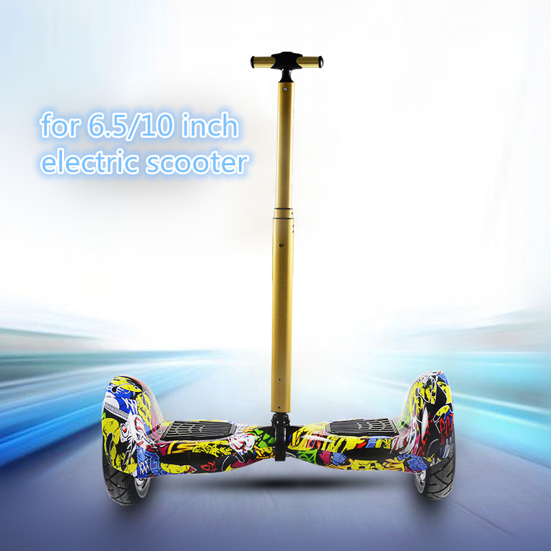 Nowy gorący rozbudowy uchwyt sterowania Strut Stent Rail dla 6.5/10 Cal 2 koła elektryczny skuter utrzymujący równowagę Hoverboard uchwyty Rod