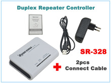 Surecom SR-328 Radio Duplex Repeater Controller with 2pcs Radio Connect Cables (Cable for options) surecom repeater