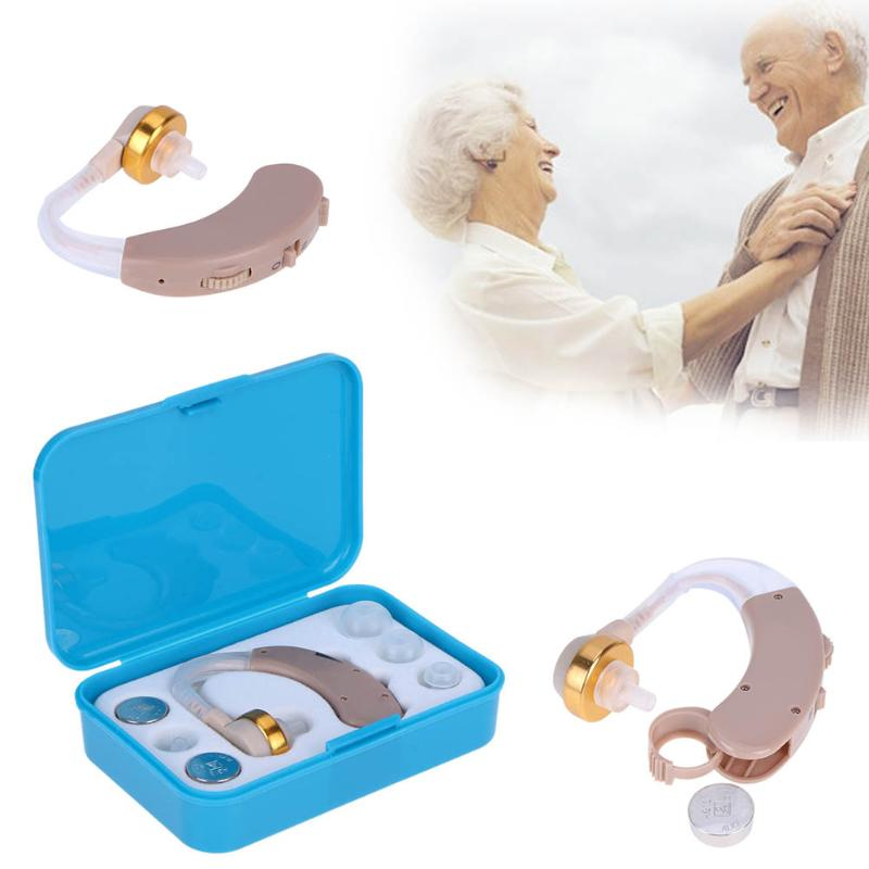 Portable Listening Mini Digital Rechargeable Hearing Aid Ear Sound Amplifier In the Ear Tone Volume Adjustable Ear Care With Box 30